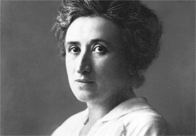 """Rosa Luxemburgo: """"Primero la acción"""""""